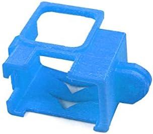 YIJIABINGRU 3DプリントTPUカメラ拡張ボーダーフレームマウント保護ハウジングのGoPro 5 6 7アクションカメラDIY FPVレーシングドローンのために 交換部品 (Color : Blue)