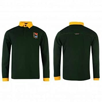 e474527652a South Africa Unisex (Springboks) Rugby World Cup Shirt: Amazon.co.uk:  Sports & Outdoors