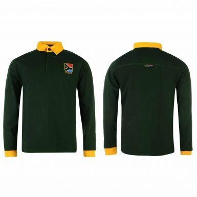 (Unisex South Africa (Springboks) Rugby Shirt)