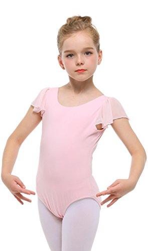 FEOYA Girls Dance Leotard Camisole Dancewear Ballet Dancing Dress
