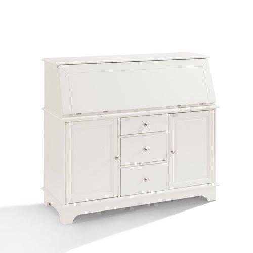 Crosley Furniture Sullivan White Secretary Desk