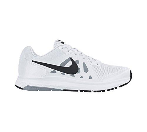 Nike Mens Dart 11 Running Shoes White/Dove Grey/White/Black 7.5