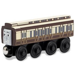 Learning Curve Old Slow Coach - Thomas Wooden Railway Tank Engine Train Loose ()