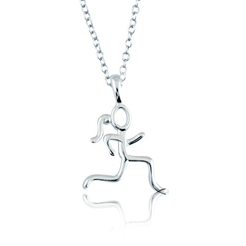 sterling-silver-stick-figure-runner-necklace-925-sterling-silver-necklaces-running-jewelry-18-cable-