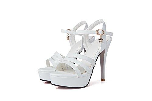 AdeeSu Ballerine White Donna AdeeSu Ballerine x6TPqwSq