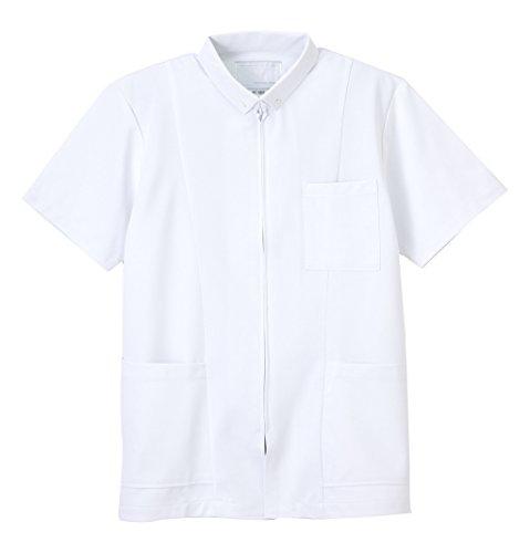 スキニー魔法開示するナガイレーベン NAGAILEBEN 男子上衣 HO-1957(L) ホワイト