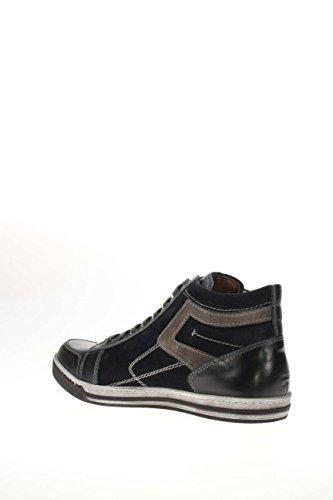 Giardini 200 High nbsp;Sneaker Nero Sneaker Hohe a604380u Herren Blau Axdfwq