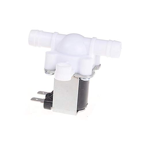 Beduan Plastic Electrical Inlet Solenoid Water Valve Normally Closed for Water Dispense DC 24V 1/2