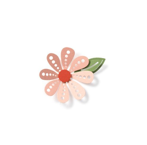 QUICKUTZ We R Memory Keepers 4-Inch by 4-Inch Die, Flower