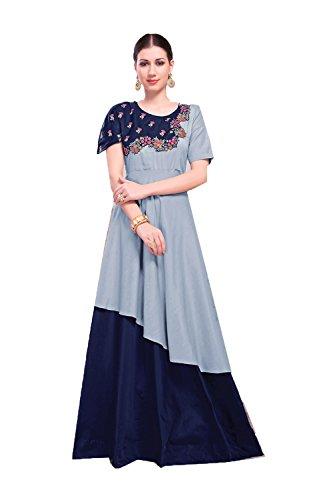 Da Designer Facioun Blue Women Salwar Indian Ethnic Kameez Partywear Traditonal qrqtPdw