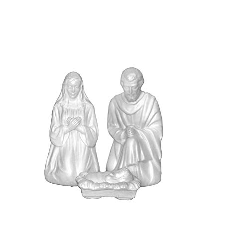 Outdoor Lighted Blow Mold Nativity Set in US - 3
