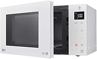 LG MH6535GDH Microondas Grill Smart Inverter Microondas 1000 W, Grill 900 W, Micro+Grill 1450 W, 25 litros de capacidad, Display LED, Steam Bowl, ...