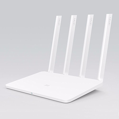 LYM MIR3 Dual Band 4-Antenna 3-WAN Router for Xiaomi - White