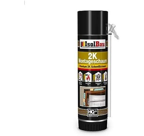 Espuma de montaje 2K 1 x 400 ml Espuma de marco para puerta de espuma rápida PU Adaptador de espuma: Amazon.es: Bricolaje y herramientas