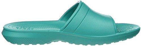 Crocs Unisexe Sandale Slide Classique Sarcelle Tropical