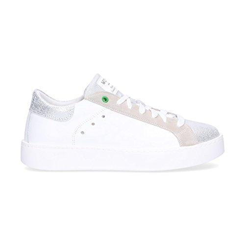 Pelle Womsh C180903 Bianco Sneakers Donna Bqtaq