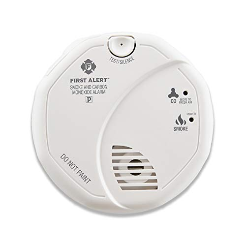 (First Alert Smoke Detector and Carbon Monoxide Detector Alarm | Battery Operated, SCO5CN )