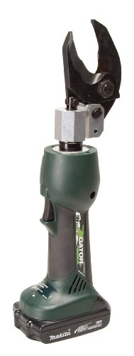 Greenlee ES32L11 Gator Battery-Powered Scissor Cable Cutter with 120V ()