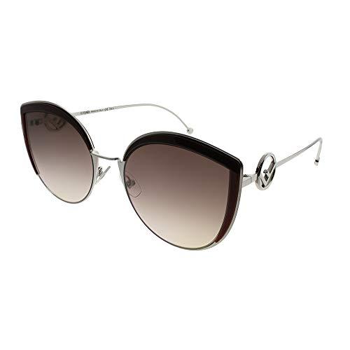 Sunglasses Fendi Ff 290 /S 0LHF Opal Burgundy / HA brown gradient lens