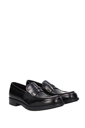 Loafers Prada Herren Leder Schwarz 2DE093NERO Schwarz 41EU