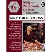 2001 Patch Block - Six Is for Hexagon Encyclopedia of Patchwork Blocks Volume 6 by Marti Michell (2001-08-02)