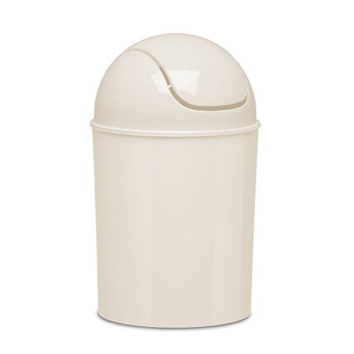 (Umbra Mini Waste Can, 1-1/2 Gallon with Swing Lid (Linen))