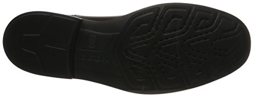 Geox U Dublin C - Zapatos Derby Hombre Marrón (Ebony)