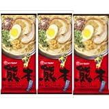 熊本黒マー油とんこつラーメン2食×3袋