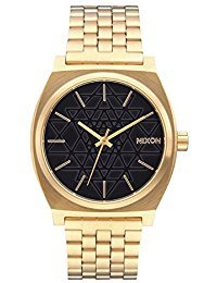 NEW Nixon Time Teller Watch Gold Black Stamped
