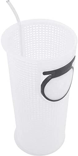 "Jacuzzi 16113409R Strainer Basket With 2/"" Tall Flapper for Magnum Pumps"