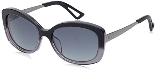 Dior OSG Black Grey Gradient Extase2 Butterfly Sunglasses Lens Category - Dior Sunglasses Butterfly