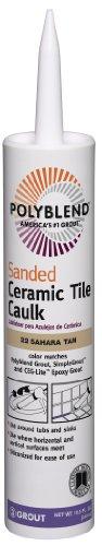 Custom Building Products PC2210S-6 10.5 Oz Sahara Tan Sanded Ceramic Tile Caulk by Custom Building Products