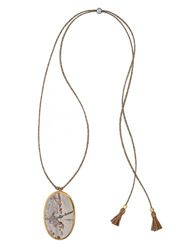 Chan Luu Painting Jasper Pendant Necklace, (Painting Jasper)