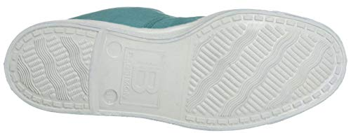 Vert Baskets Lacet jade 0157 Bensimon Femme Tennis wET00I