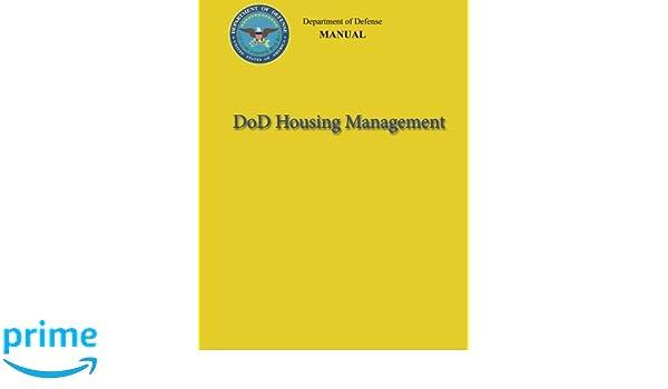 DoD Housing Management (DoD 4165 63-M): Department of