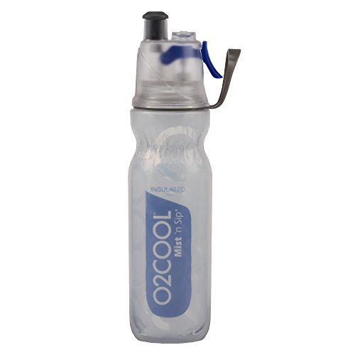 O2COOL ArcticSqueeze Insulated Mist 'N Sip Squeeze Bottle 20 oz., ()