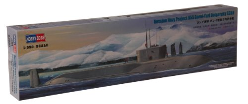 (Hobby Boss Russian Navy Project 955 Borei-Yuri Dolgoruky SSBN Boat Model Building)