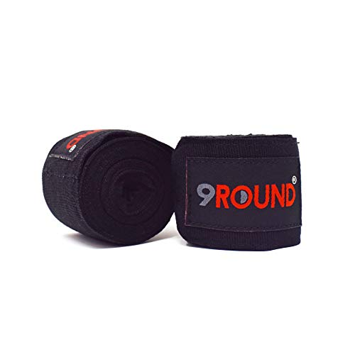 9Round Sunny Days Entertainment Fitness 150 Inch Hand Wraps for Men and Women | Boxing Wrist Wraps for Training at Home…