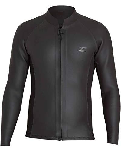 Billabong Men's 2Mm Revolution Glide Skin Long Sleeve Jacket Black Large
