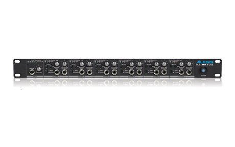 Alesis Multimix 6 Cue 6-Channel Headphone Amplifier and Mixer (Alesis Mixers)