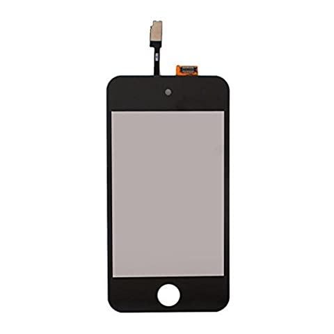 Eachbid LCD Digitizer Glass Touch Screen Assembly Replacement for iPod Touch 4th Gen Black (Ipod 4 Screen Glass)