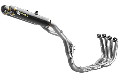Two Brothers Racing (005-2570108V) Standard Series M-2 Titanium Canister Full Exhaust System