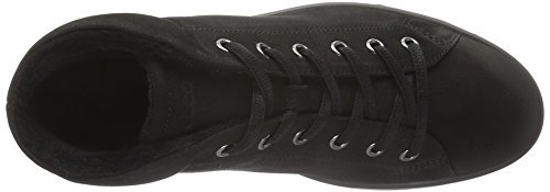 Damen Black2001 Schwarz Fara Ecco High Top 0XxRqnvd