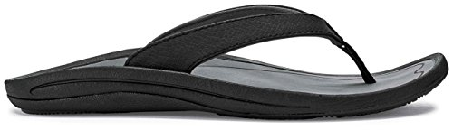 Olukai Kvinnor Slipper - Womens Nero / Trottoar