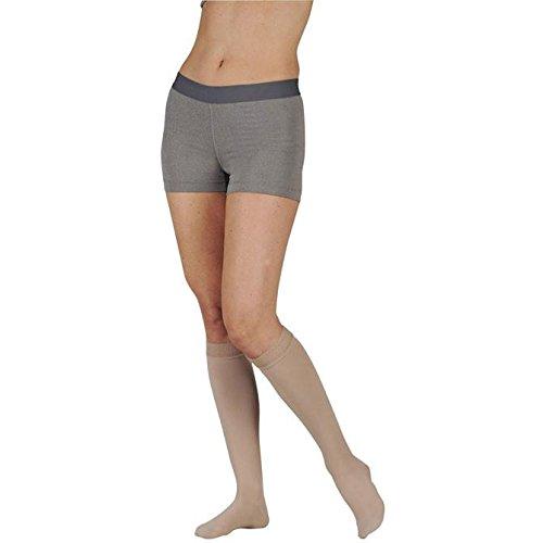 20-30 mmHg, Soft, Knee, FF, Short, Silicone, Navy