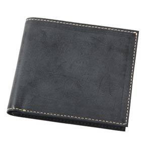 d1eca123034a Amazon   (フリュー)FRUH 財布 メンズ 二つ折り F ブラック   財布