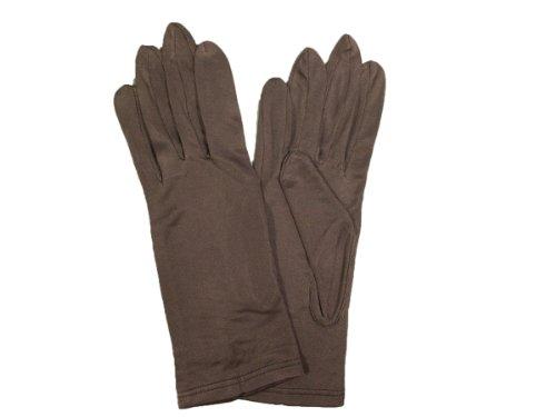 シルク手袋 絹手袋 MSTS001 (ブラウン)