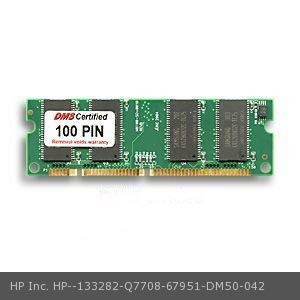 DMS Compatible/Replacement for HP Inc. Q7708-67951 Laserjet 4200tn 64MB DMS Certified Memory 100 Pin SDRAM 3.3V, 32-bit, 1k Refresh SODIMM Cisco Approved - DMS