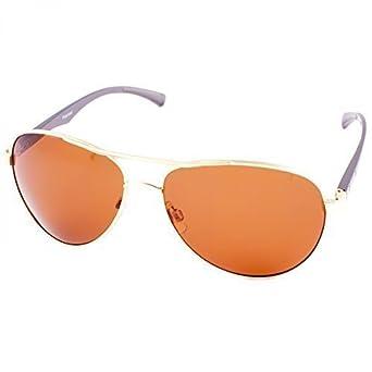 Damen Sonnenbrille Polarisierend Piloten Matrix Fram Aviator New Wayfahrer, Rahmenfarbe:Blau