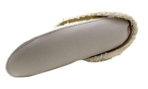 ACO Innenfutter für Clogs/Gartenclogs Pantoletten Gr. 36-41 Weiss (Cremeweiss)